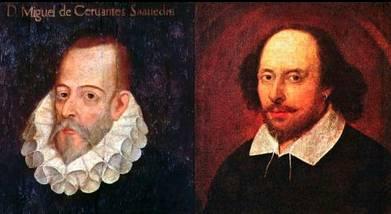 Cervantes, Shakespeare y el Día del Libro