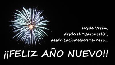 Felicitación de Año Nuevo de LaGaZetaDeTerZero